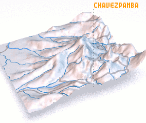 3d view of Chavezpamba