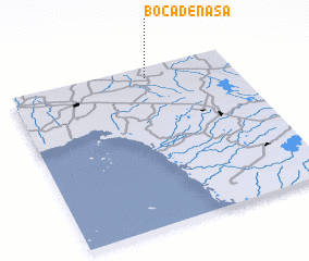 3d view of Boca de Nasa