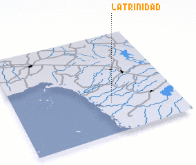 3d view of La Trinidad