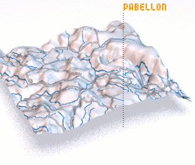 3d view of Pabellón