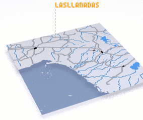 3d view of Las Llanadas