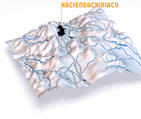 3d view of Hacienda Chiriacu