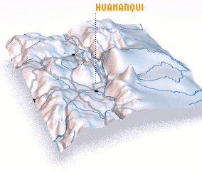 3d view of Huamanquí