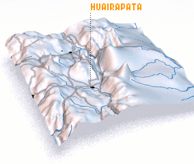 3d view of Huairapata