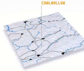 3d view of Coal Hollow
