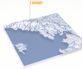 3d view of Chimán