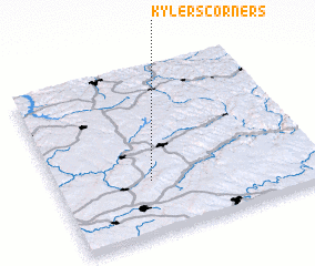 3d view of Kylers Corners