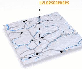 3d view of Kylers Corners
