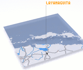 3d view of La Yamagüita