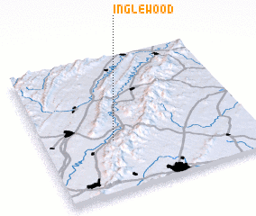 3d view of Inglewood