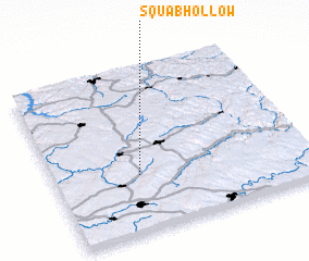 3d view of Squab Hollow