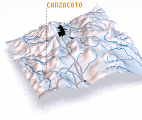 3d view of Canzacoto