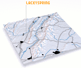 3d view of Lacey Spring