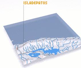 3d view of Isla de Patos
