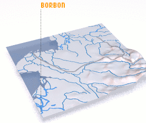 3d view of Borbón