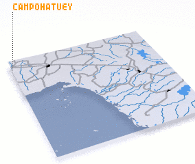 3d view of Campo Hatuey
