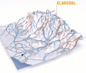 3d view of El Arenal