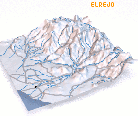 3d view of El Rejo