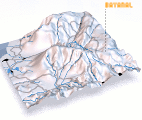3d view of Bayanal