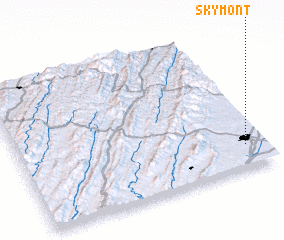 3d view of Skymont