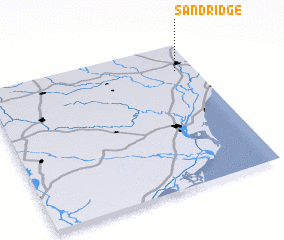 3d view of Sand Ridge