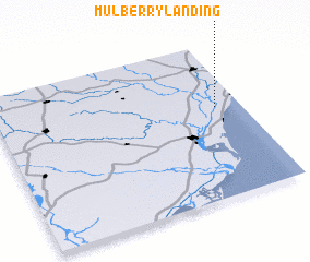 3d view of Mulberry Landing