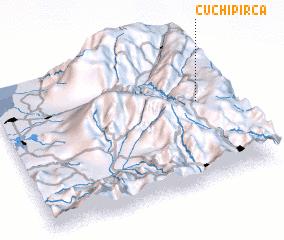 3d view of Cuchipirca