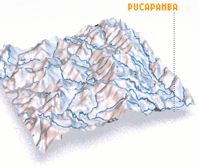 3d view of Pucapamba