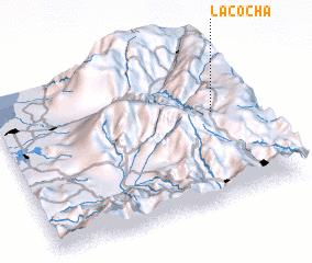 3d view of La Cocha