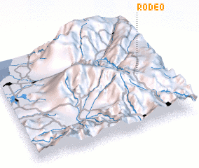 3d view of Rodeo