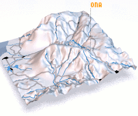 3d view of Oña