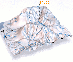 3d view of Sauco