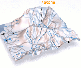 3d view of Fasana