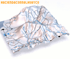 3d view of Hacienda Corral Huayco