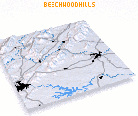 3d view of Beechwood Hills