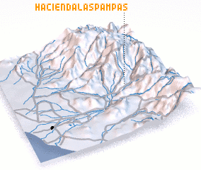 3d view of Hacienda Las Pampas