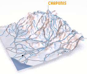 3d view of Chapunis