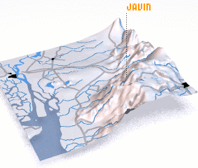 3d view of Javín