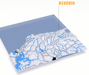 3d view of Aserrío