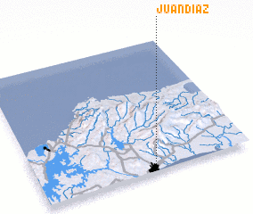 3d view of Juan Díaz