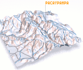 3d view of Pacaypampa