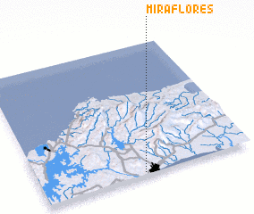 3d view of Miraflores