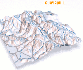 3d view of Guayaquil