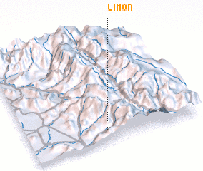 3d view of Limón