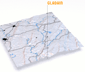 3d view of Gladwin