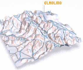 3d view of El Molino
