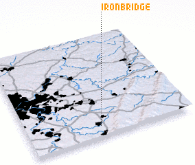 3d view of Iron Bridge