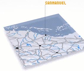 3d view of San Manuel