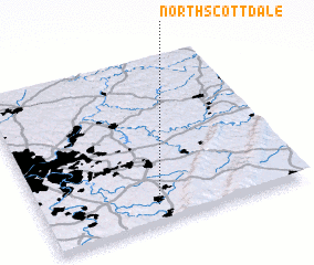 3d view of North Scottdale