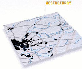 3d view of West Bethany